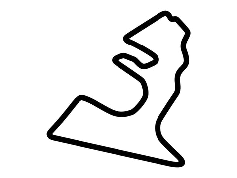 Circuit of the Americas National Circuit Decal