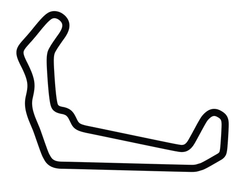 High Plains Raceway North Course Decal