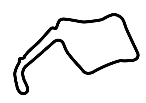 Oulton Park GP Circuit Decal