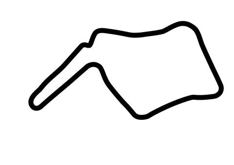 Oulton Park Island Circuit Decal