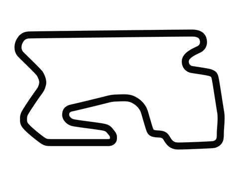 Utah Motorsports Campus Outer Course Decal