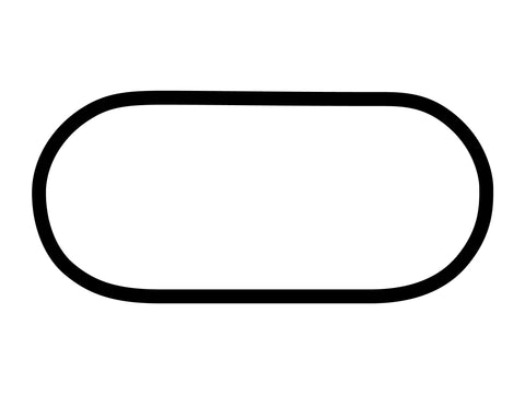 Homestead-Miami Speedway Oval Decal