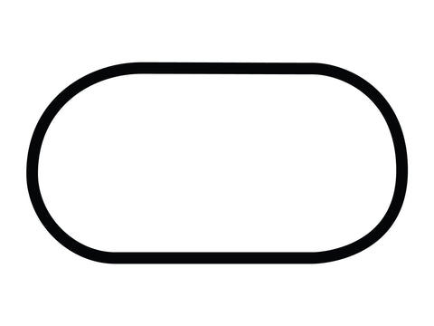 Dominion Raceway Oval Course Decal