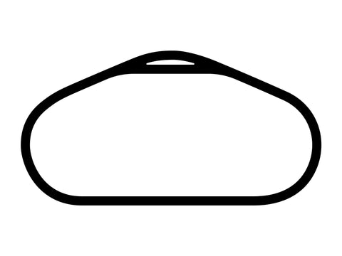 Talladega Superspeedway Tri-Oval Decal