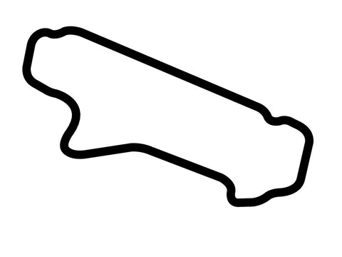 Pocono Int'l Raceway Southeast Course Decal
