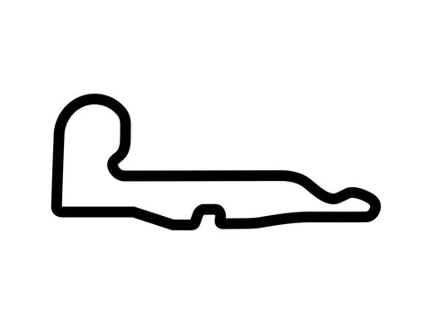 Pomona Road Circuit Decal