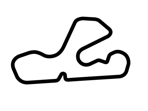 Putnam Park Road Course B Decal