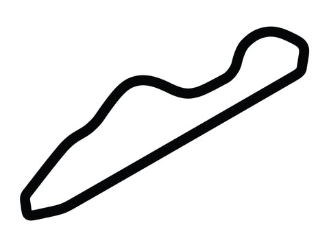 National Corvette Museum Motorsports Park Race Loop Course Decal