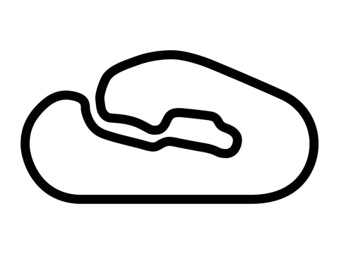 Talladega Superspeedway Road Course Decal