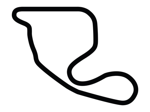 Nelson Ledges Road Course Decal