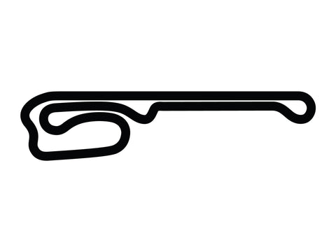 Palm Beach Int'l Raceway Road Course Decal