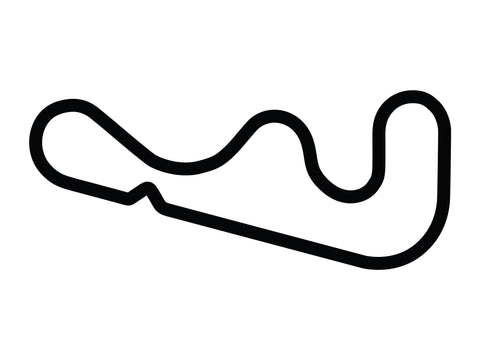 Roebling Road Raceway Large Chicane Decal
