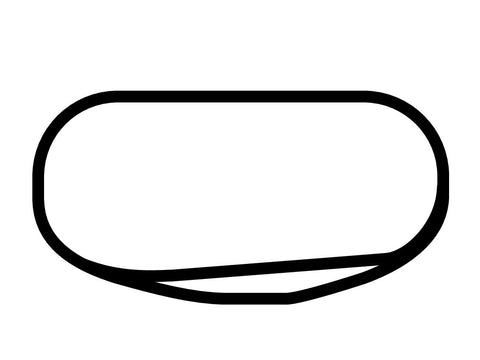 Rockingham Speedway Oval Decal