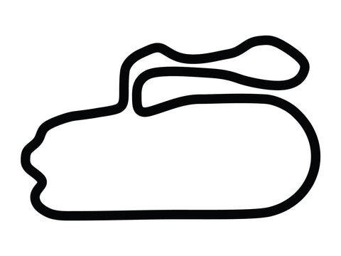New Hampshire Motor Speedway Roval Alternate Course Decal