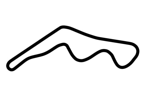 Mike Pero Motorsport Park 'B' Circuit Decal