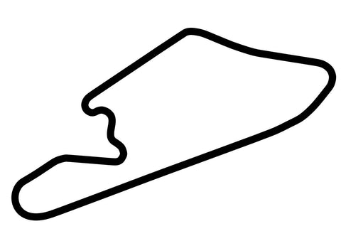 Mike Pero Motorsport Park Club Circuit Decal