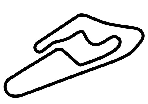 Mike Pero Motorsport Park GP Circuit Decal
