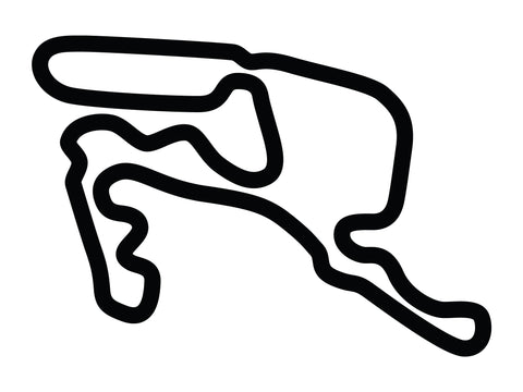 Summit Point Raceway Shenandoah Circuit Bike Decal