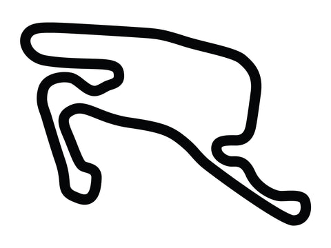 Summit Point Raceway Shenandoah DE Circuit Decal