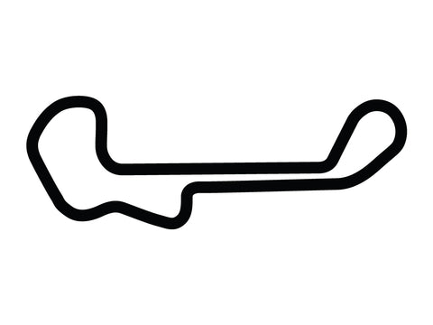 Barber Motorsports Park Short Circuit Decal