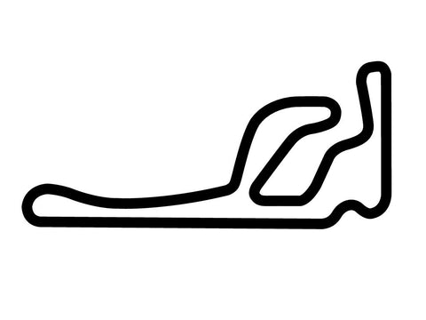 Taupo Motorsport Park Track 1 Decal