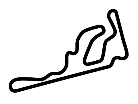 Taupo Motorsport Park Track 4 Decal