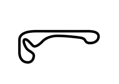 Timaru International Motor Raceway Decal