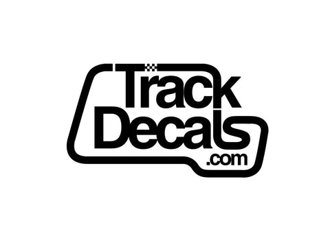 TrackDecals.com Logo #2 Decal