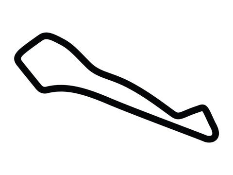 Atlanta Motorsports Park Course Variant 2 Decal