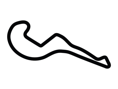 Atlanta Motorsports Park Course Variant 3 Decal