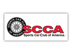 SCCA Logo with Wheel
