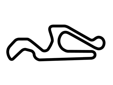 CalSpeed Karting Nuovo Course Decal