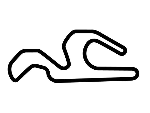 CalSpeed Karting Sportivo Course Decal