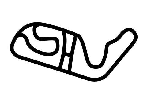 Mallorca RennArena Karting Circuit Decal