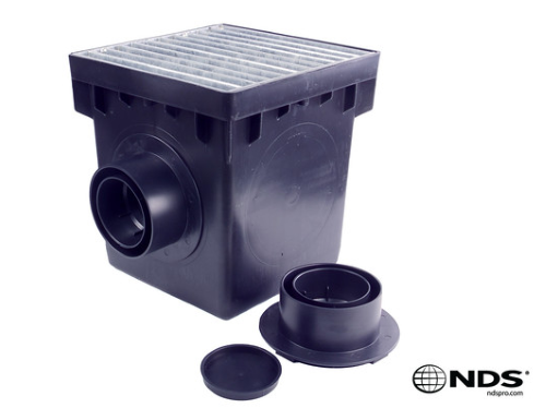 NDS - 0909SD2 - 9'' Square 2-Hole Basin Kit