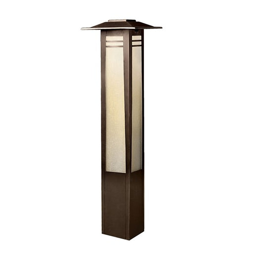 Kichler - 12V 16W Zen Garden 26'' Bollard Path Light (Olde Bronze) - 15392OZ