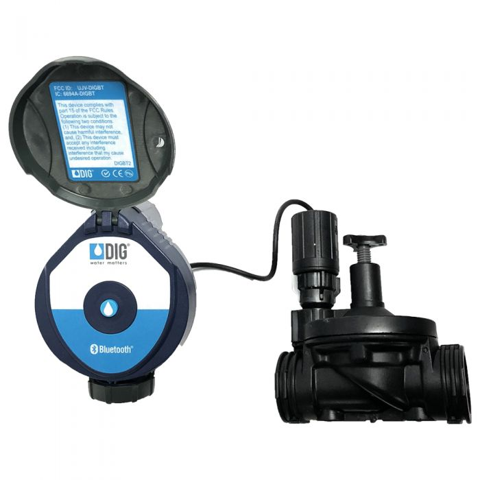 "DIG - 410BT Bluetooth Battery Operated Controller with 1"" Valve - 410BT-100"