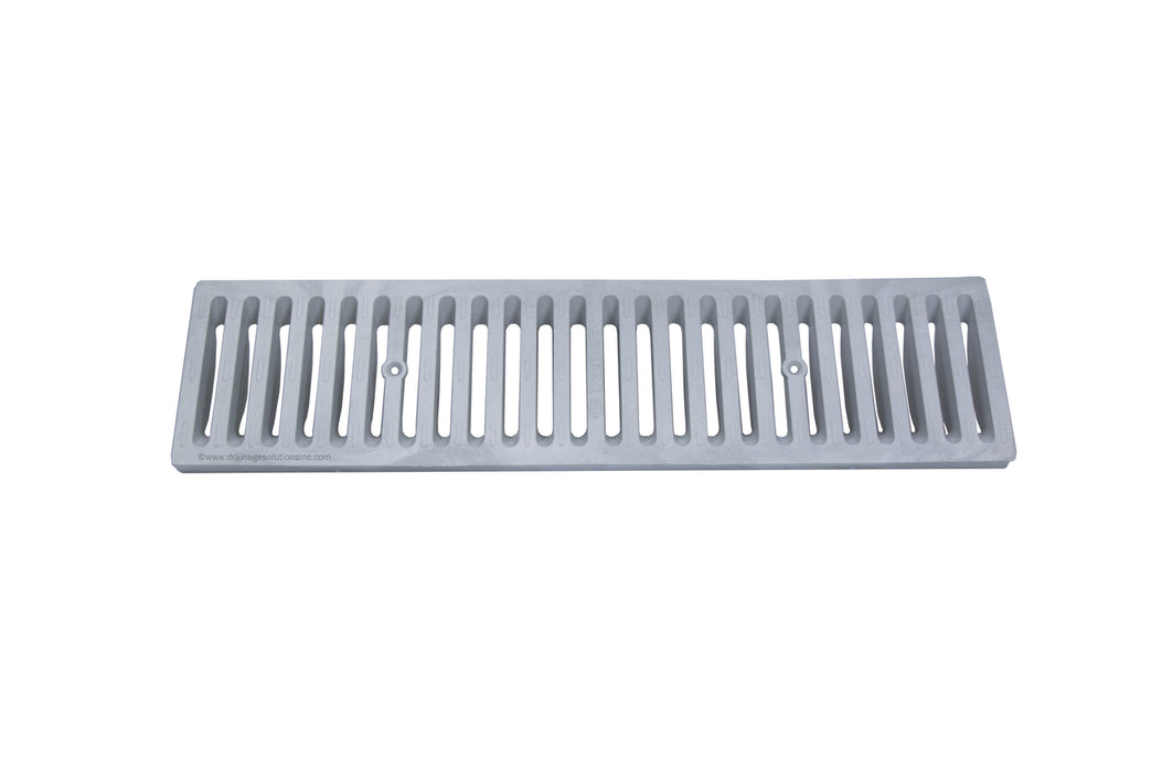 NDS - 661LG - 2' Dura-Slope Plastic Channel Grate, Light Gray