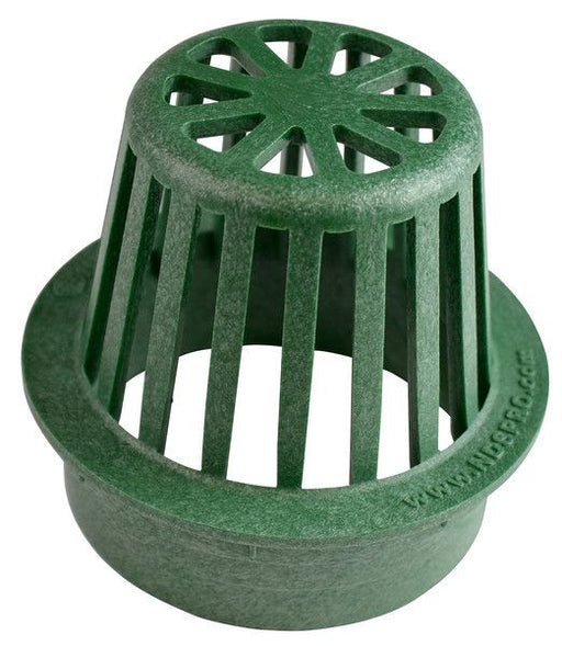 "NDS - 80 - 6"" Round Atrium Grate, Green"