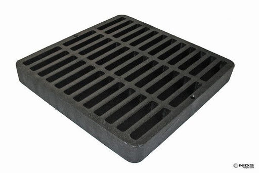 "NDS - 980 - 9"" Square Grate, Black"