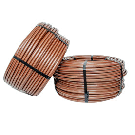 "Dig - 17mm Excel PCD Dripline w/ Check Valve; 12"" Spacing x 500' (Brown) 1 GPH - A1-512P-CV"