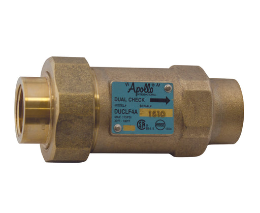 Apollo - 4ALF-3A5-5A - 1'' Dual Check Valve Backflow Preventer