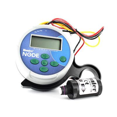 Hunter - NODE-100 - Single Station Battery Operated Controller w/ DC Latching Solenoid