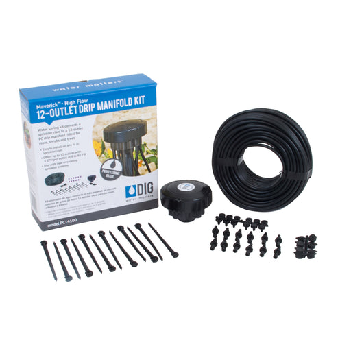 Dig - Maverick 4 GPH 12-Zone High Flow Sprinkler Conversion Kit - PC14100