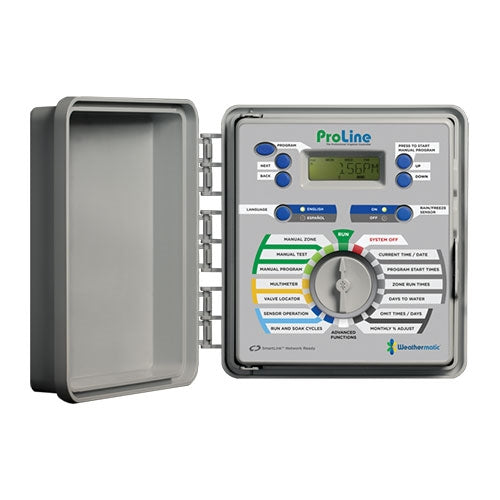 Weathermatic - ProLine 4-Station Indoor/Outdoor Controller (Expandable to 16 Zones) - PL1600