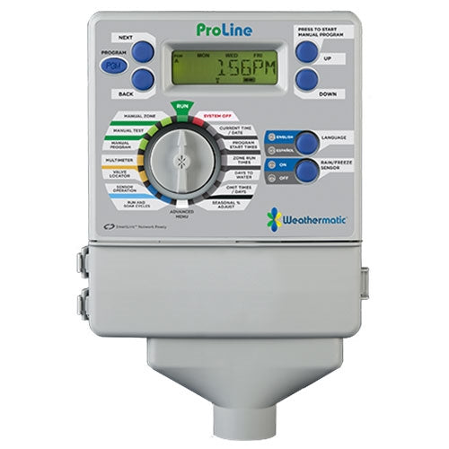 Weathermatic - ProLine 4-Station Indoor Controller (Expandable to 8 Zones) - PL800