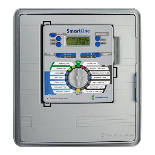 Weathermatic - SmartLine 12-Station Indoor/Outdoor Controller (Expadable to 48 Zones) - SL4800