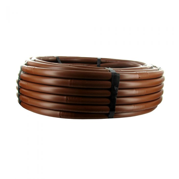 "DIG - 17 mm Brown Drip Line - (18"" Emitter Spacing) (.6 GPH) (100') - A5-118P"