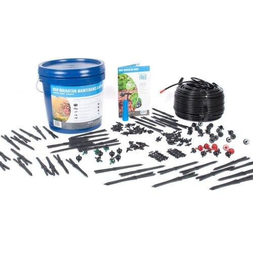 DIG  - Micro Drip Irrigation Maintenance & Repair Kit (162 Piece) - DB250