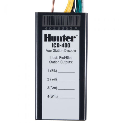 Hunter - ICD400 - 4 Station Decoder
